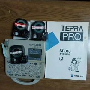 ジャンク品 TEPRA PRO SR313