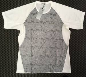 期間限定送料無料★定価\18,700☆正規EPOCA UOMO MEN☆カモフラクルーネックTシャツ★日本製★半袖Tシャツ☆
