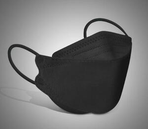 KF94 1817C【送料無料】黒色80枚組特価!高密度フィルターFK94マスク 4層 使い捨て 不織布 超立体マスク!韓国マスクkf94マスク ロマンス