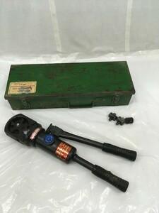 【中古品】富士物産 手動油圧式圧着工具 P-150 /IT8UEL5QT7B4