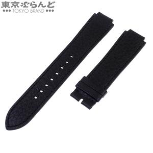 101514156 ルイ・ヴィトン LOUIS VUITTON 替えレザーベルト 腕時計用 R17838 ブラック ベルトのみ 新古品