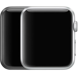 Apple Watch Series 2 Nike+ A1758 42mm アルミニウムケース シルバー スマートウォッチ 商品状態Cランク 中古本体