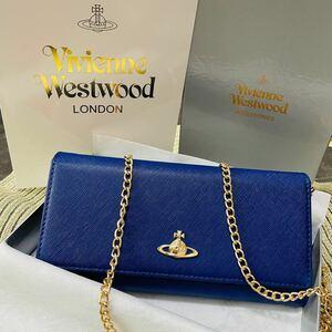 《 新品未使用 》Vivienne Westwood 長財布 チェーンウォレット ヴィヴィアンウエストウッド ゴールドチェーン
