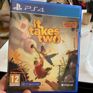 PS4ソフト EU版 it takes two (国内版本体動作可)