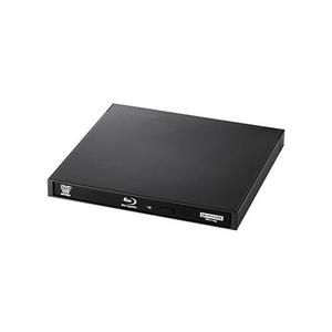 エレコム Blu-rayディスクドライブ/USB3.2 Gen1(USB3.0)/スリム/書き込みソフト付/UHDBD対応/ブラック LBD-PWA6U3LBK(l-4580333595788)