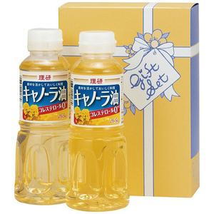 理研キャノーラ油セット B6037510(l-4518544105328)