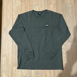 THE NORTH FACE ノースフェイス 直営店限定 ロングスリーブシャツ ニュートープ L
