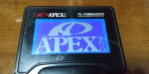 **Apexi apex power FC for liquid crystal version FC commander. liquid crystal panel exchange [ blue color ]. easy to see ** Subaru