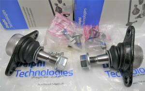 (送料込) ボルボ S60 V70 XC70 XC90 ボールジョイント2個セット【DELPHI製・新品】