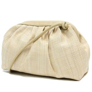 新品 ROSE BUD ローズバッド バッグ ショルダーバッグ ポシェット 小さめ ブランド シンプル ベージュ がま口 肩かけ 斜めがけ 鞄 カバン