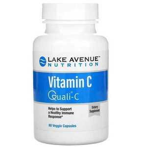 値下 送220~/匿配可 DSM クオリC 高品質ビタミンC 1000mg 60粒 期限23/11 スコットランド Quali-C 美容 免疫 代謝 レイクアベニュー