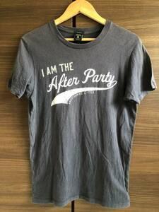 送料無料 メンズ S ABERCROMBIE&FITCH Tシャツ アバクロンビー フィッチ 半袖 シャツ アバクロ アメカジ 20年前 紺 ネイビー Navy 美品