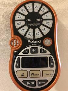 Roland ローランド VT-12 VOCAL TRAINER ボーカルトレーナー オレンジ