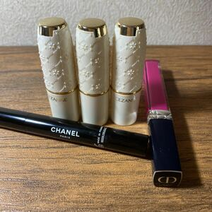 口紅 リップ  Chanel Dior まとめ売り