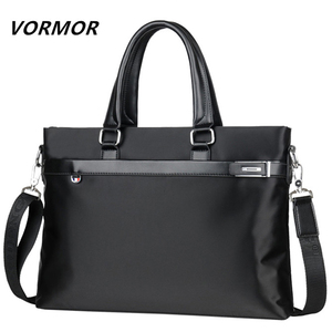 ★ ブリーフケース メンズ VORMOR 高級海外ブランド Oxford 防水 選べる2色 ビジネス ショルダー ハンドバッグ 鞄 (a1670)