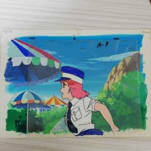 大判直筆背景 魔法のプリンセス ミンキーモモ 初期 セル画 直筆画 空モモ クリィミーマミ ドラゴンボール マジカルエミ セーラームーン