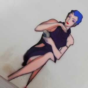 未来警察ウラシマン ミレーヌ・サベリーエワ セル画 ジブリ ドラゴンボール タツノコプロ ベルサイユのばら セーラームーン スペースコブラ