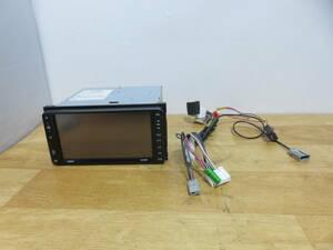 P564 動作品 保障付/スバルOP クラリオン製SSDナビ/GCX609W /Bluetooth/TV地デジフルセグ CD.DVD再生 スバル車用配線あり