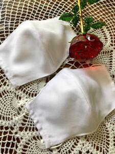 立体インナー ハンドメイド 白2枚 女性ゆっくりサイズ お仕事で白が好まれる方にもオススメ 送料込み
