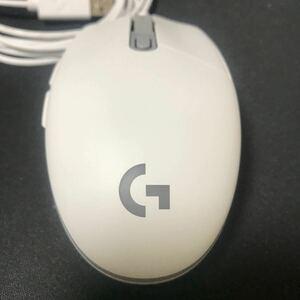 ロジクール マウス Logicool  G203 ホワイト ☆新品同様☆