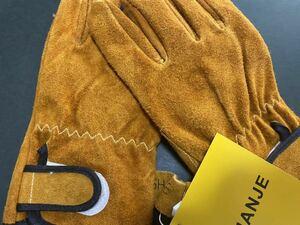 耐熱 本牛革 手袋 SHANJE レザーグローブ 耐刃グローブ アルミホイル素材 高温耐性350℃
