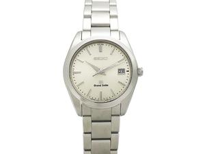 セイコー SEIKO グランドセイコー GS SBGX063 9F62-0AB0 SS シルバー文字盤 クォーツ メンズ 腕時計 仕上げ・電池交換済