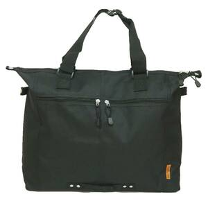 【新品・ブラック】 ☆Ladies Big Tote Bag☆ 大容量 エコバッグ マザーズバッグ A3ファイル ノートPC ビジネス 学生 通学 通勤