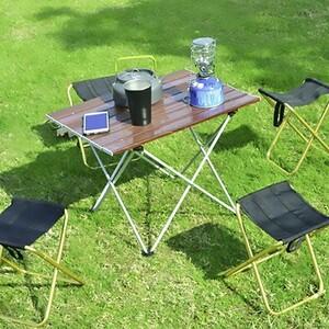 アウトドアテーブル キャンプ用品 折りたたみテーブル 折りたたみ レジャーテーブル アルミ アウトドア