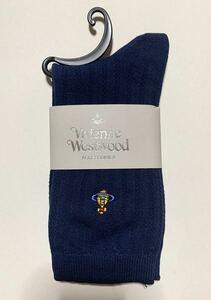 Vivienne Westwood ヴィヴィアンウエストウッド 靴下 ネイビー
