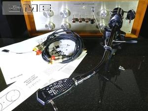 SME 3010-R BLACK 希少トーンアーム サブウエイト/SMEシェル/SMEケーブル等付属 リフターオイル補充済み Audio Station