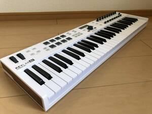 Arturia KEYLAB ESSENTIAL 61 61鍵ハイブリッドシンセサイザー MIDIキーボード