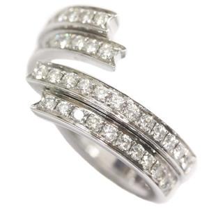 即決 ショーメ フリソン ダイヤモンド #53 リング・指輪 レディース K18ホワイトゴールド ジュエリー 12.5号 ホワイトゴールド