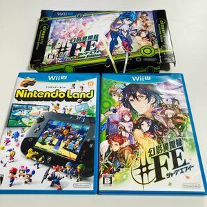 WiiU Nintendo Land ニンテンドーランド 幻影異聞録 #FE ソフト2本セット