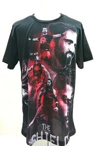 送料込み!【XXLサイズ】シールド Tシャツ ローマン・レインズ ディーン・アンブローブ WWF WWE プロレス