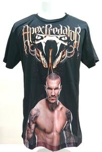 送料込み!【XLサイズ】ランディー・オートン Tシャツ ベノム 毒蛇 RKO WWF WWE プロレス