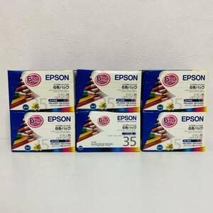 【未開封品】EPSON エプソン 純正インクカートリッジ IC6CL35 6色パック 計6個セット 期限切れ