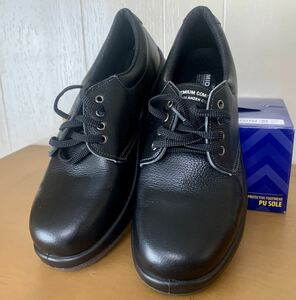 新品未使用 ミドリ安全 安全靴 プレミアムコンフォート  PREMIUM COMFORT  PRM210 ブラック メンズ 27.0㎝