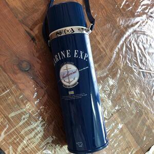 大きめ象印 ステンレス魔法瓶水筒 0.88リットル