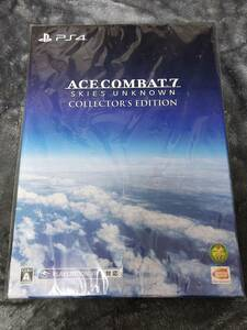 """【PS4】ACE COMBAT 7 SKIES UNKNOWN COLLECTOR""""S EDITION 新品未開封"""
