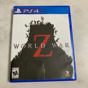 World War Z 北米版 PS4 プレステ4