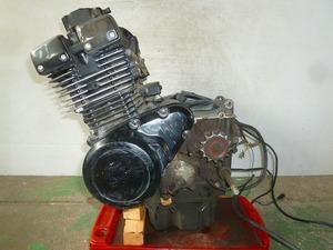 GSX250S カタナ・GJ76A★エンジン本体・クランキング確認・J707★SM7-83