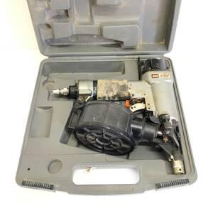 ◆領収書可 MAX CN-330 FSP38T3 コイルネイラ 釘打ち機 釘打機 エア釘打 エアツール エア漏れ有 ジャンク品 部品取り ケース付き