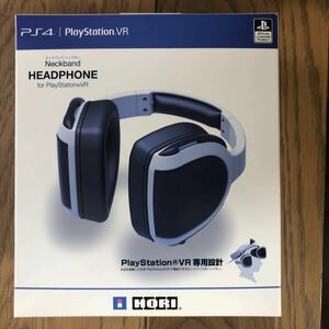 PlayStation VR HORI プレイステーション4 ステレオヘッドセット ネックバンド ヘッドホン