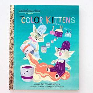 The Color Kittens いろいろこねこ 英語絵本 多読 洋書 DWE マーガレット・ワイズ・ブラウン