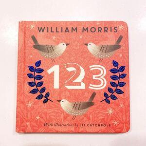 数字 ウィリアムモリス 英語絵本 洋書 イギリス William Morris 123