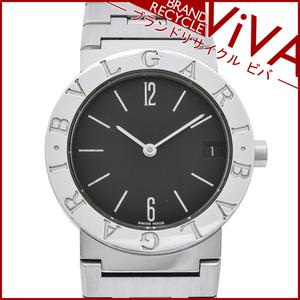 BVLGARI ブルガリブルガリ ボーイズ 腕時計 BB30SS クォーツ 電池式 SS ステンレススチール 腕周り16.5cm 日常生活防水 美品 研磨仕上げ済