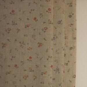 YUWA 小花柄 コットンリネン カットクロス 3枚セット
