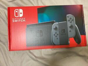 即決 送料無料 新品 未開封 保証有 Nintendo Switch 本体 グレー ニンテンドースイッチ 本体