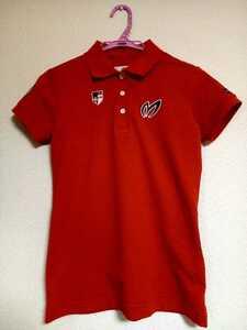 PEARLY GATES パーリーゲイツ マスターバニー MASTER BUNNY EDITION ポロシャツ レッド 赤 サイズ0