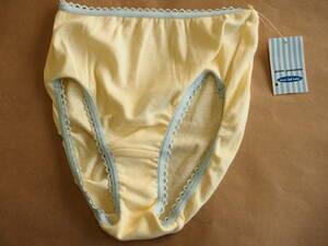 未使用タグ付き★ポンポネット ワコール製 ジュニアショーツ JMサイズ 女児 黄色 下着